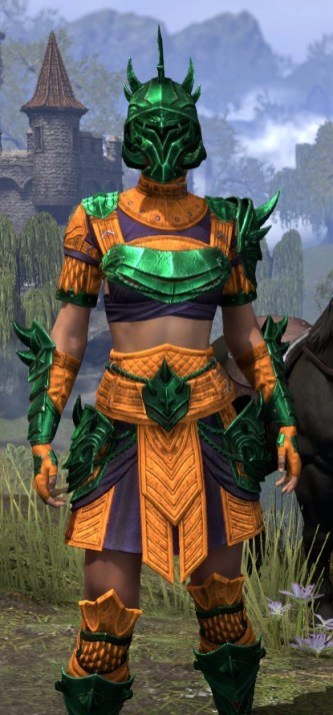 Deadlands Gladiator - Dyed Close Front