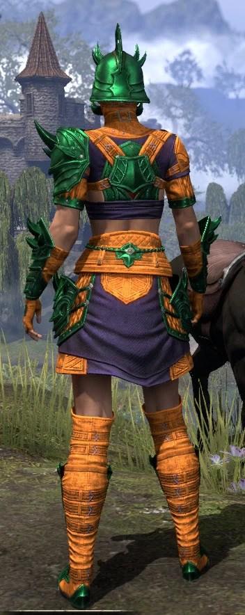 Deadlands Gladiator - Dyed Rear