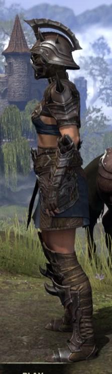 Deadlands Gladiator - Female Side