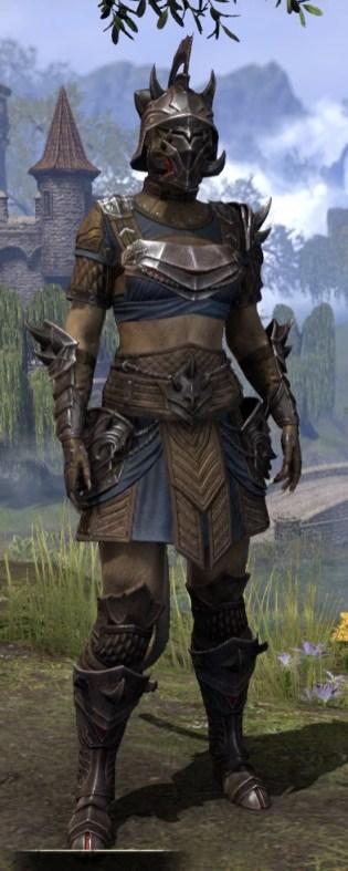 Deadlands Gladiator - Khajiit Female Front