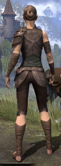 Eveli's Adventuring Leathers - Female Rear
