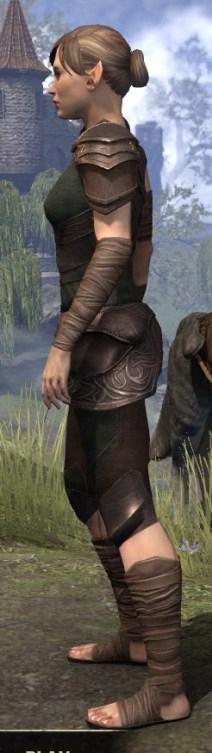 Eveli's Adventuring Leathers - Female Side