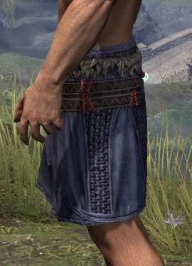 Harpooner's Wading Kilt - Male Side