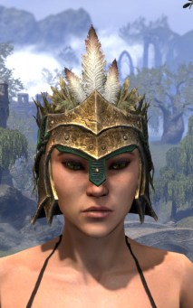 Helm of the Black Fin - Female Front