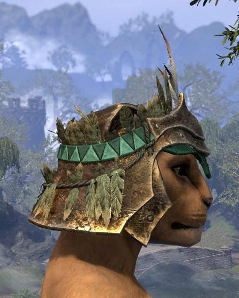 Helm of the Black Fin - Khajiit Female Right