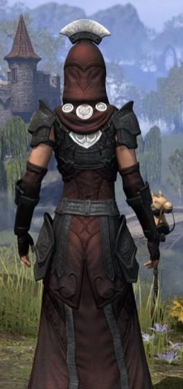 Ivory Brigade Light - Female Robe Close Rear