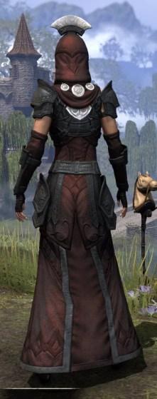 Ivory Brigade Light - Female Robe Rear