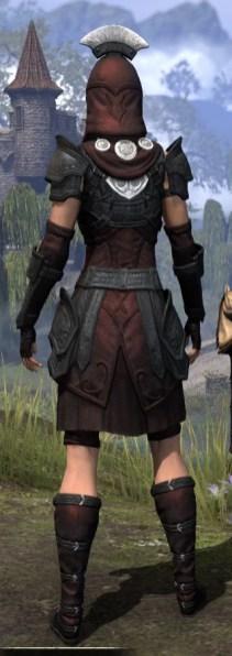 Ivory Brigade Light - Female Shirt Rear