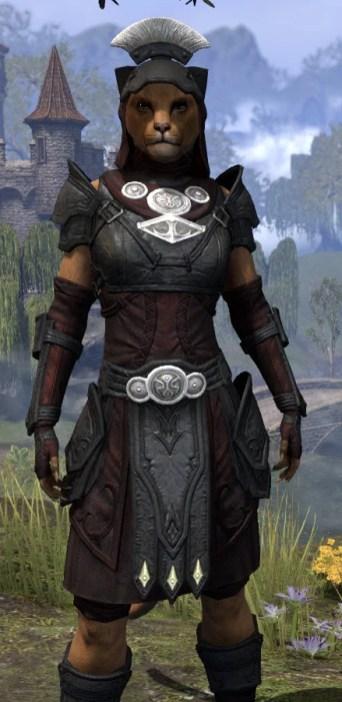 Ivory Brigade Light - Khajiit Female Shirt Close Front