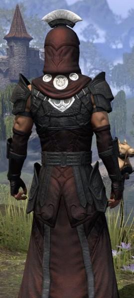 Ivory Brigade Light - Male Robe Close Rear