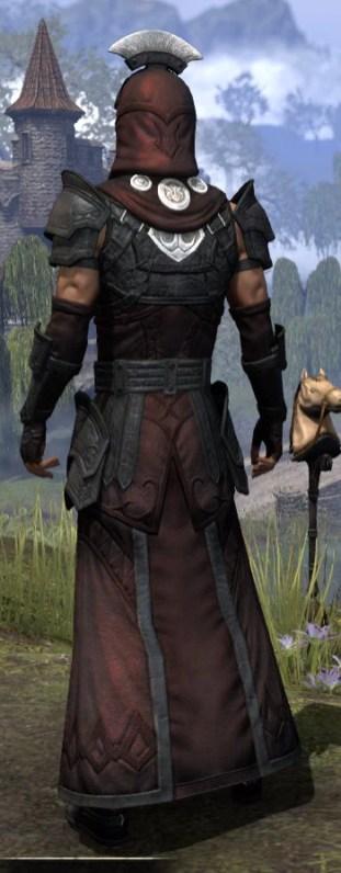 Ivory Brigade Light - Male Robe Rear