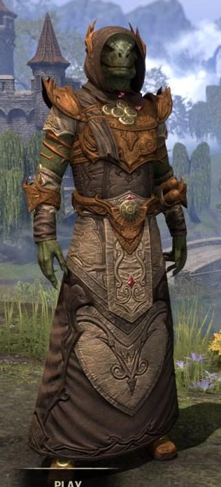 Ja'zennji Siir - Argonian Male Front