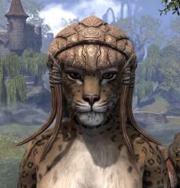 Netch Handler Cap - Khajiit Female Front