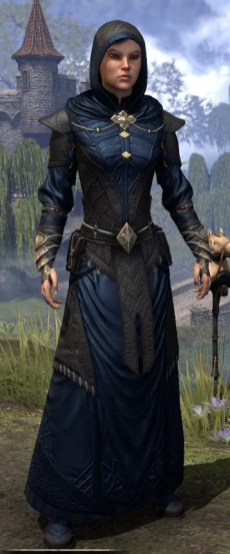 Nibenese Court Wizard - Female Front