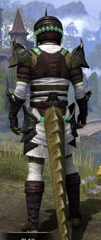 Sul-Xan Light - Argonian Male Shirt Rear