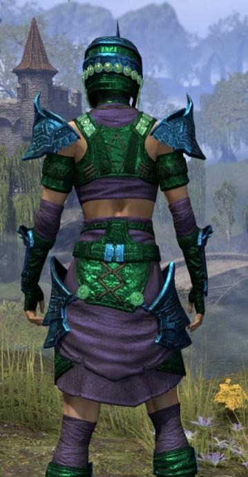 Sul-Xan Light - Dyed Shirt Close Rear