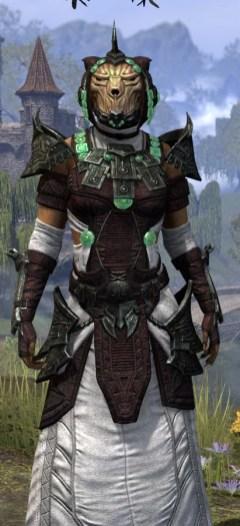 Sul-Xan Light - Khajiit Female Robe Close Front