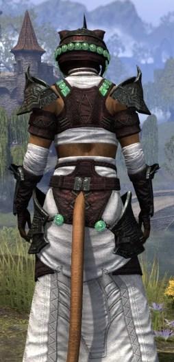 Sul-Xan Light - Khajiit Female Robe Close Rear