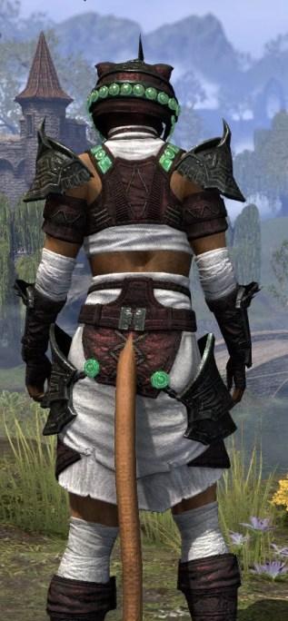 Sul-Xan Light - Khajiit Female Shirt Close Rear