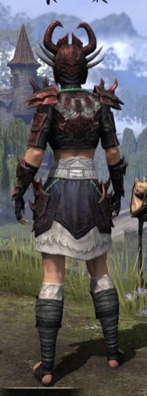 Sun-Xan Heavy - Female Rear