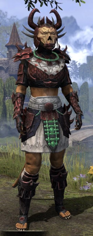 Sun-Xan Heavy - Khajiit Female Front