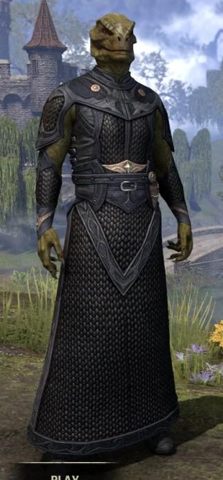 Thrafey Debutante Gown - Argonian Male Front