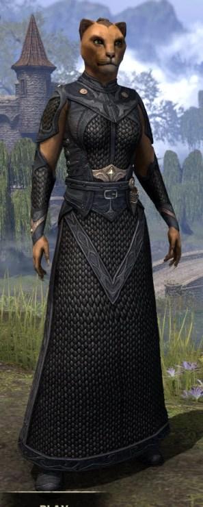 Thrafey Debutante Gown - Khajiit Female Front