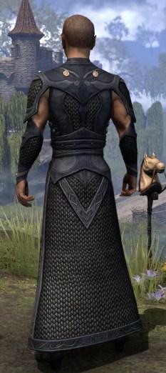 Thrafey Debutante Gown - Male Rear