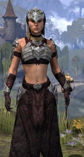 Waking Flame Ancestor Silk - Female Robe Close Front