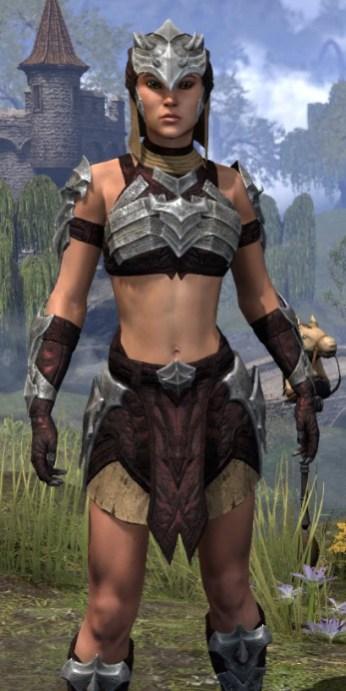 Waking Flame Ancestor Silk - Female Shirt Close Front