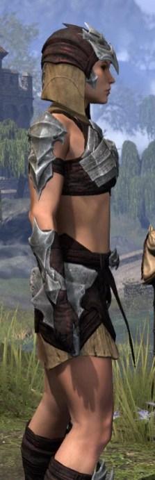 Waking Flame Ancestor Silk - Female Shirt Close Side
