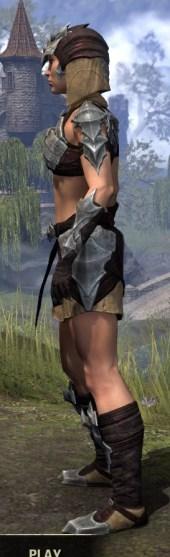Waking Flame Ancestor Silk - Female Shirt Side