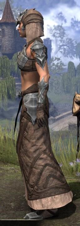 Waking Flame Homespun - Female Robe Side