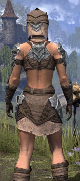 Waking Flame Homespun - Female Shirt Close Rear