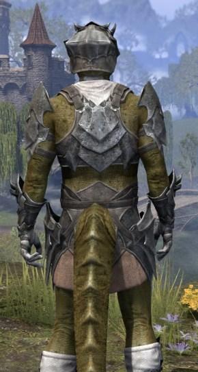 Waking Flame Iron - Argonian Male Close Rear
