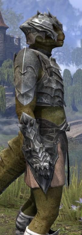 Waking Flame Iron - Argonian Male Close Side