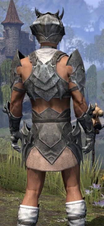 Waking Flame Iron - Male Close Rear