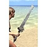 Waking Flame Iron Sword