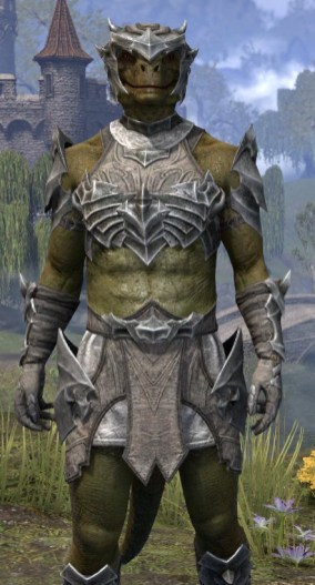 Waking Flame Rawhide - Argonian Male Close Front