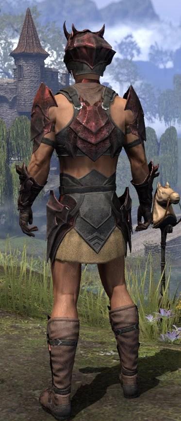 Waking Flame Rubedite - Male Rear