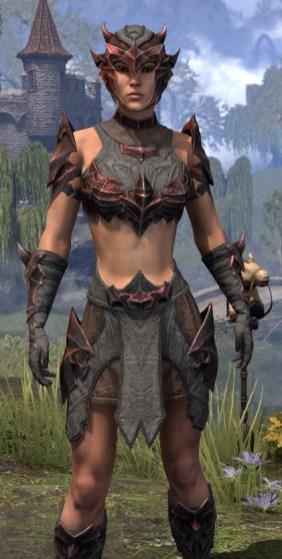 Waking Flame Rubedo Leather - Female Close Front