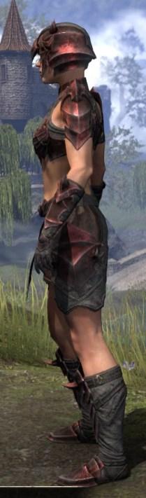 Waking Flame Rubedo Leather - Female Side