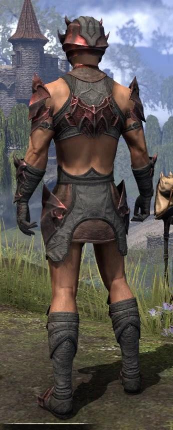 Waking Flame Rubedo Leather - Male Rear