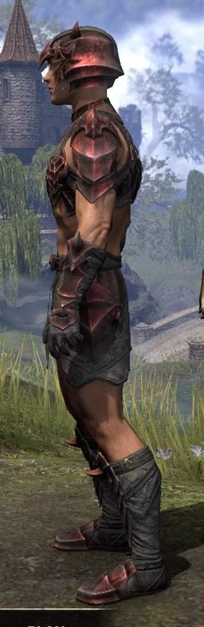Waking Flame Rubedo Leather - Male Side