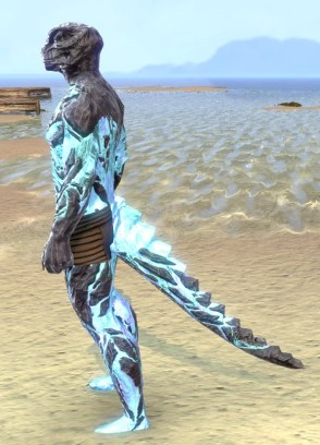 Cold-Flame Epidermis - Argonian Male Side