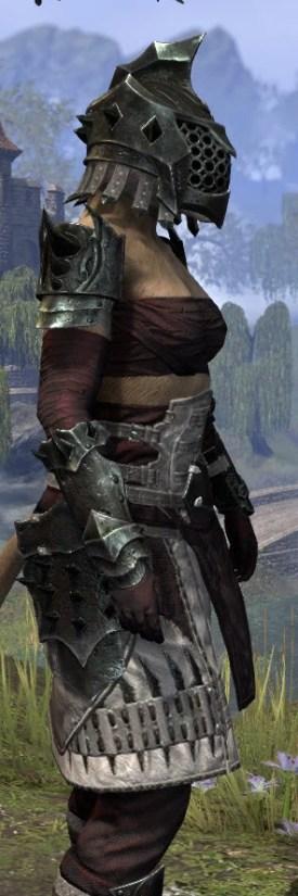 Crimson Oath Heavy - Khajiit Female Close Side