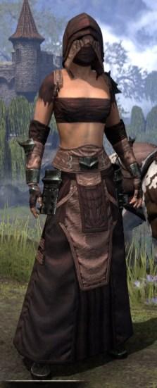 Crimson Oath Light - Female Robe Front