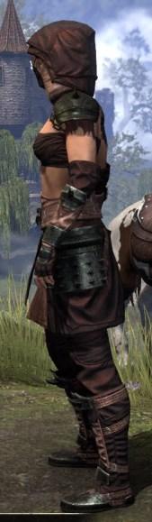 Crimson Oath Light - Female Shirt Side