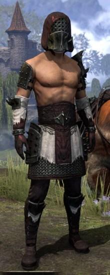 Crimson Oath Medium - Male Front