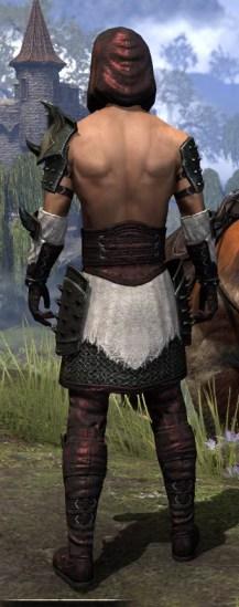 Crimson Oath Medium - Male Rear